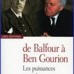 De Balfour à Ben-Gourion, la France, l'Europe occidentale et la Palestine de 1917 à 1948