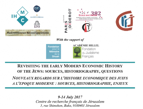 Revisiting the early Modern Economic History of the Jews