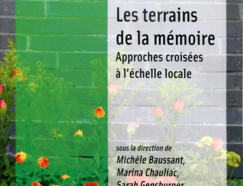 Les terrains de la mémoire – Approches croisées à l'échelle locale