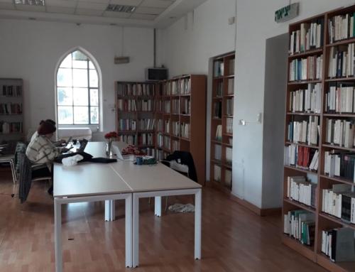 Mise en ligne du catalogue de la bibliothèque»