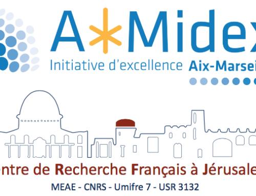 APPEL À CANDIDATURES : Projets et mobilités au CRFJ : prochain appel AMU-CRFJ 2020-2021