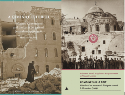 WEBINAIRE : « Reframing Jerusalem's History Through New Archives » (15 décembre 2020)