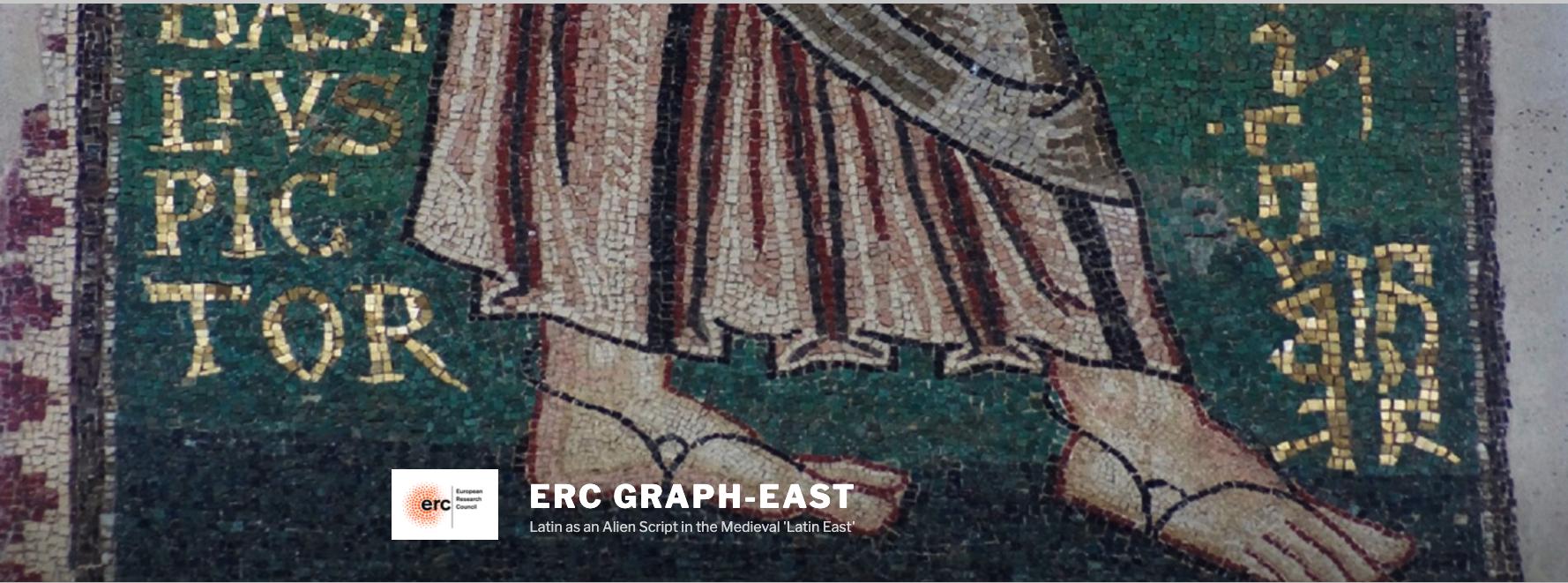 PROJET ERC : actualité du projet «GRAPH-EAST»